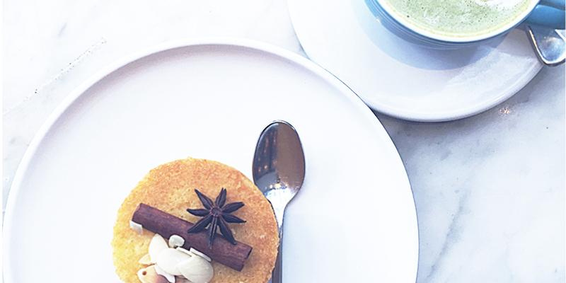 Matcha-Latte Cake