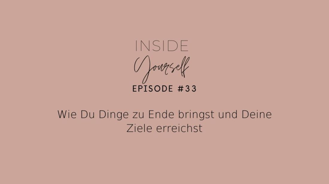Podcast Episode Cover #33 Inside Yourself
